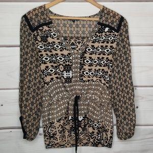 Nanette Lepore Silk Blouse Size 8